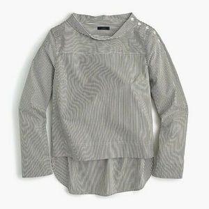 J.Crew - Funnelneck striped shirt